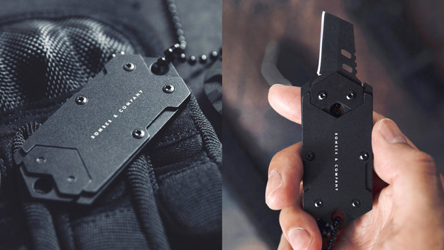 B-2 Dog Tag Fully Concealed Nano Blade