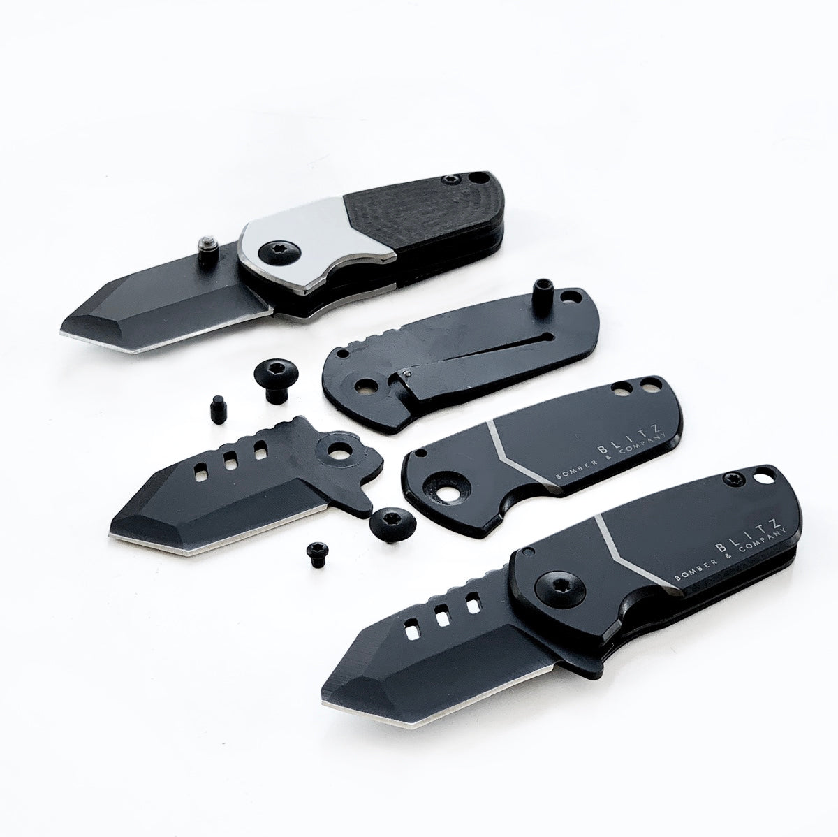 BLITZ Pocket Knife (Straight Edge)