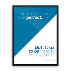 Perfectly Understandable Code – Framed