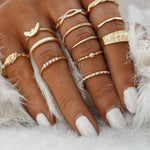 The Candice - Boho Knuckle Ring Set