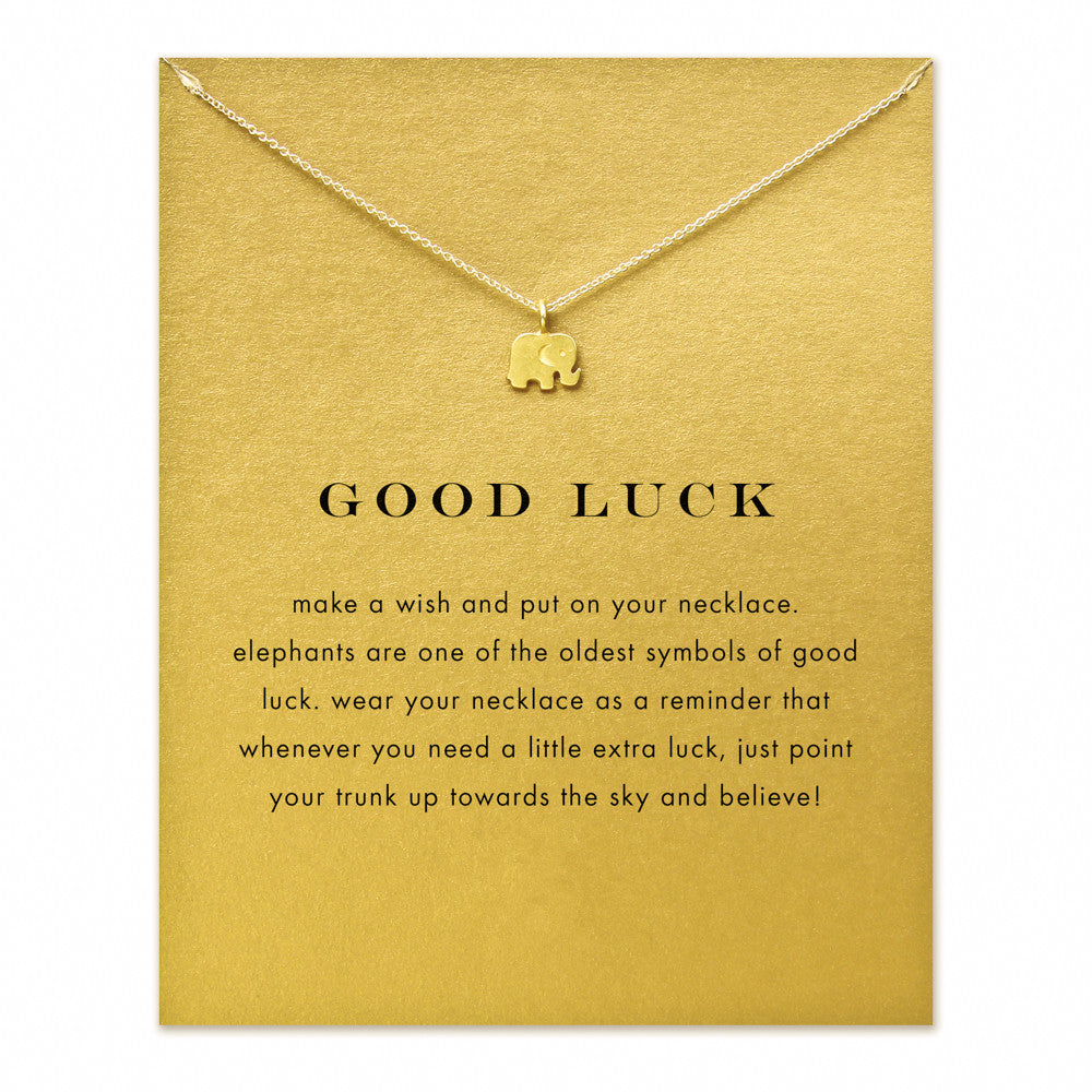 The Chelsae - Elephant God Luck Charm Necklace