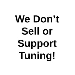 we don't sell or support tuning