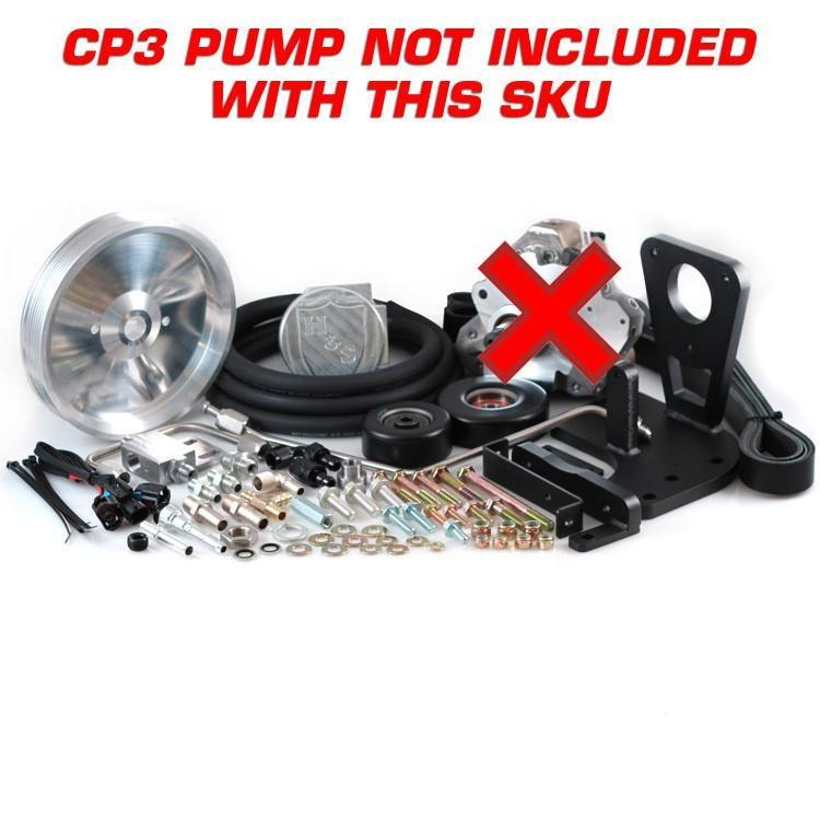 2011-2016 GM 6.6L Dual High Pressure Fuel Kit W/O CP3