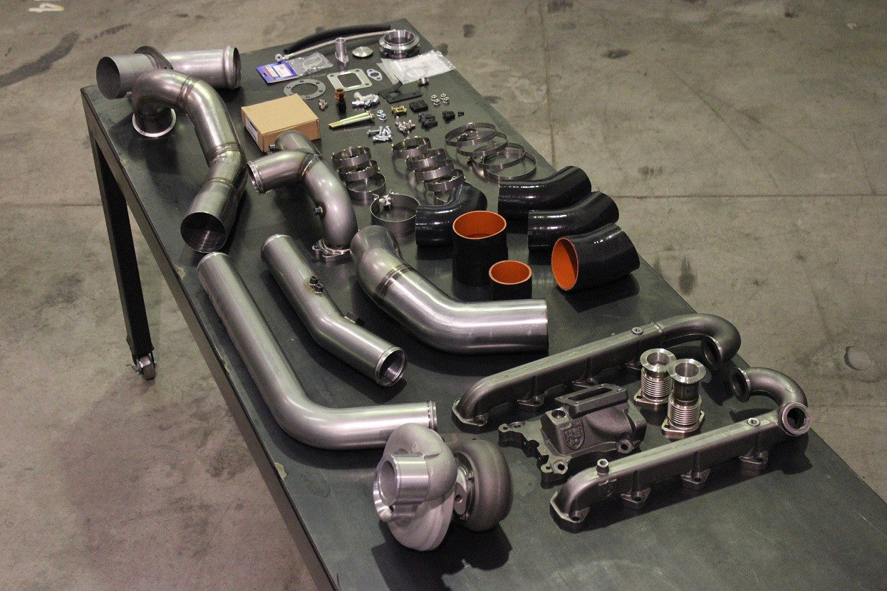 17-18 Ford 6.7L SX-E Turbo Kit