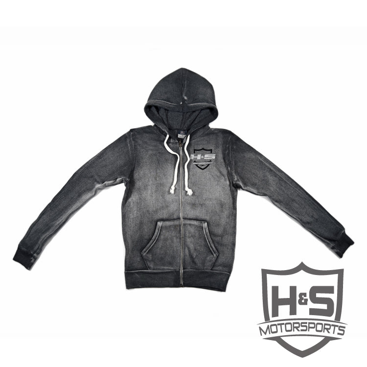Women's Zip-Up Hoodie - Grey