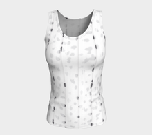 White leopard fitted tank