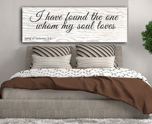 Home Decor: I have found the one whom my soul loves