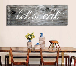 Kitchen Decor: Let's Eat