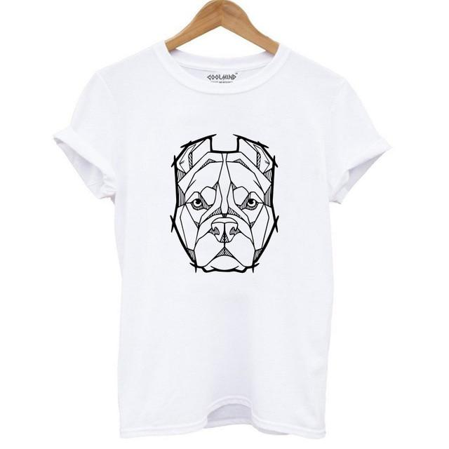Casual Dog Print T-Shirt - LM Collection