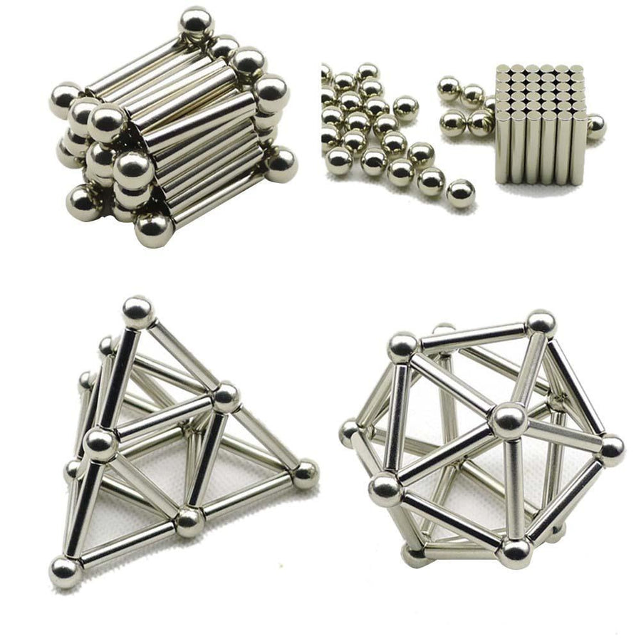 Buckyball Magnets with Sticks - LM Collection