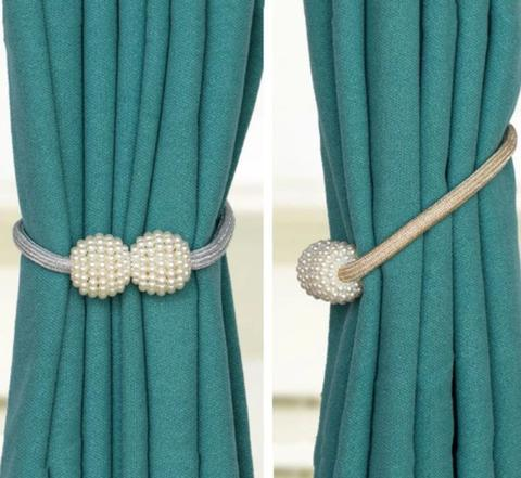 Magnetic Curtain Tiebacks - LM Collection