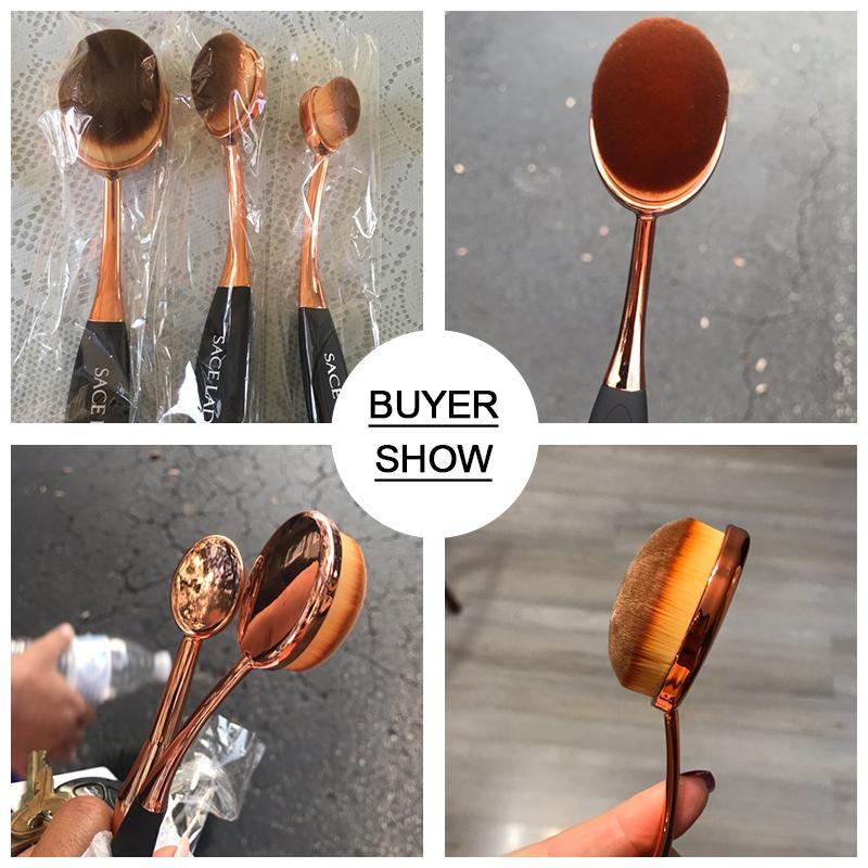 SACE LADY Makeup Brushes - LM Collection