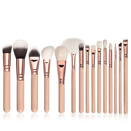 White Makeup Brushes - LM Collection