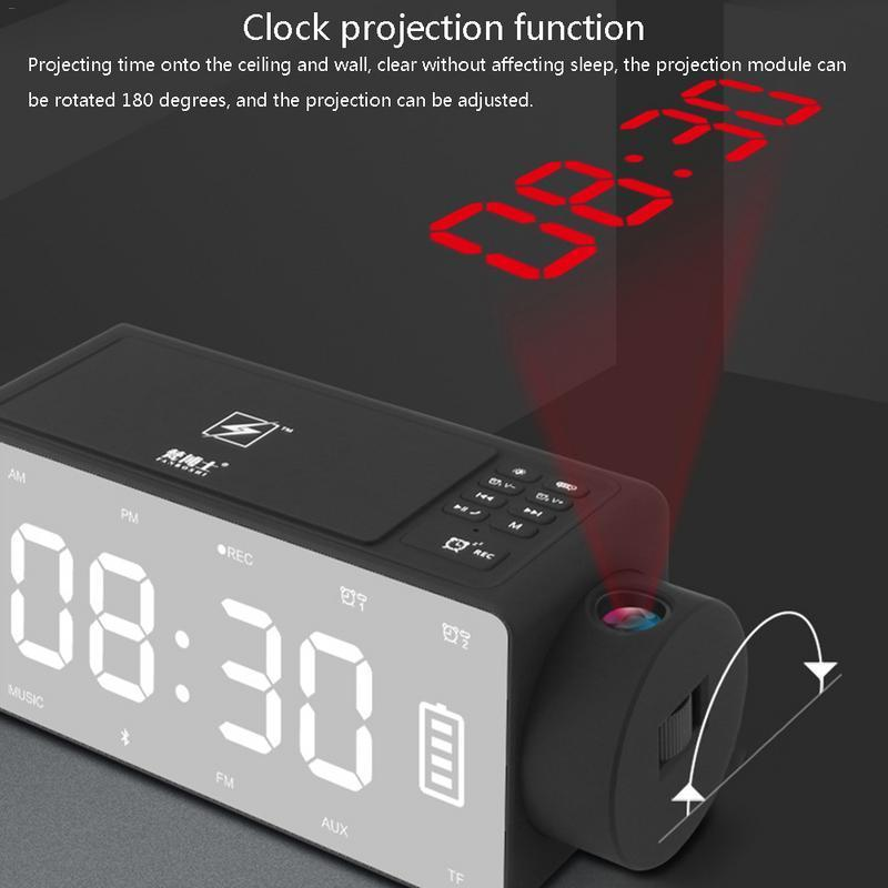 Wireless Charging Alarm Clock - LM Collection