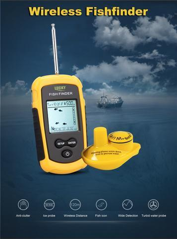 Wireless Fish Finder - LM Collection