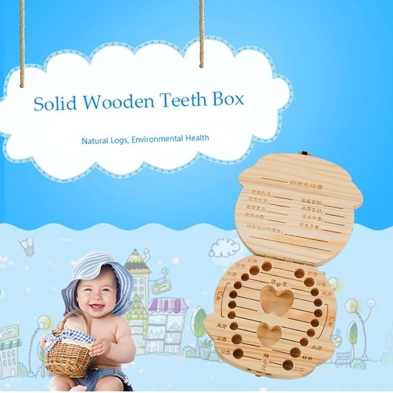 Wooden Teeth Box - LM Collection - LM Collection