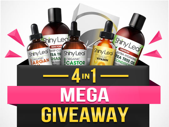 Winners of the Shiny Leaf 4-in-1 Mega Giveaway