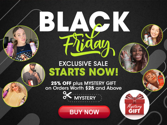 Black Friday Big Sale: 25% OFF + Mystery GIFT