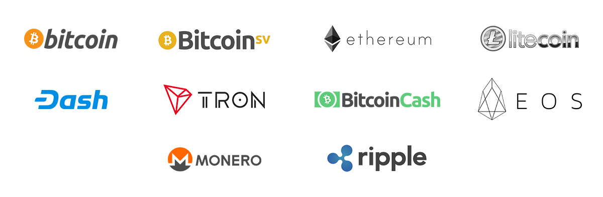 10 Accepted Cryptocurrencies