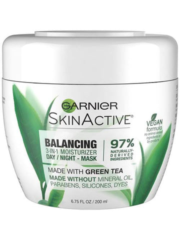 Garnier Balancing 3-in-1 Face Moisturizer with Green Tea