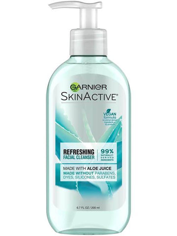 Garnier Refreshing Cream Face Wash with Aloe