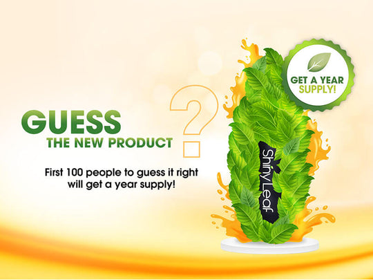 GUESS THE NEW PRODUCT, GET A YEAR SUPPLY FREE!