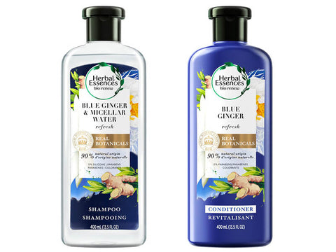 Herbal Essences Micellar Water and Blue Ginger