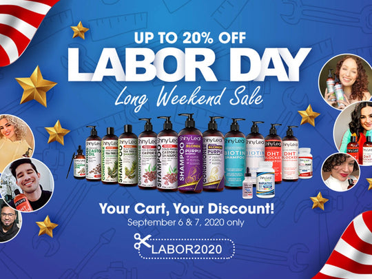 Labor Day Tribute: 2-Day Sale Up to 20% OFF