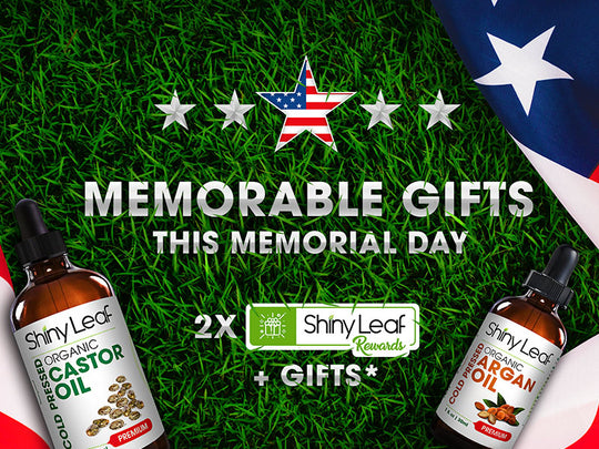 memorial Day Sale, get gifts + double points