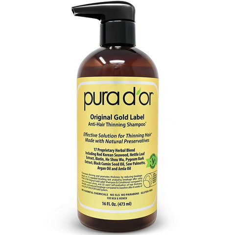 Pura Dor Original Gold Label Shampoo