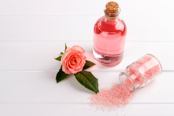 Moisturizing rose oil
