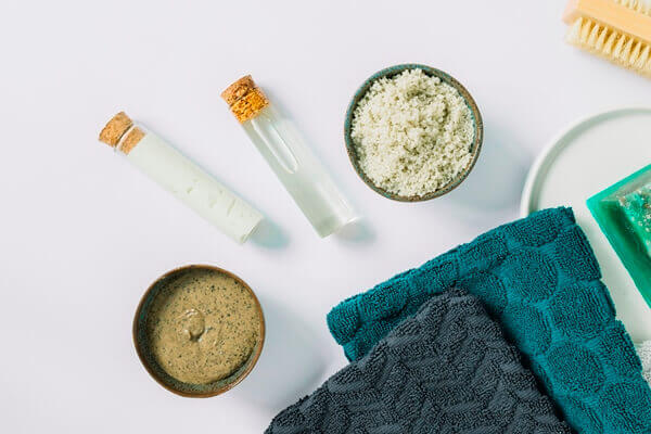 Body scrub ingredients
