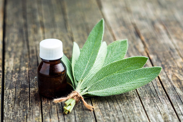 Small bottle of essential oil