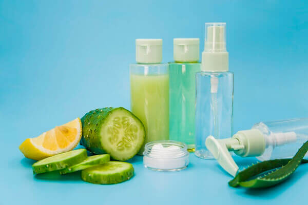 Types of lotions and natural ingredients