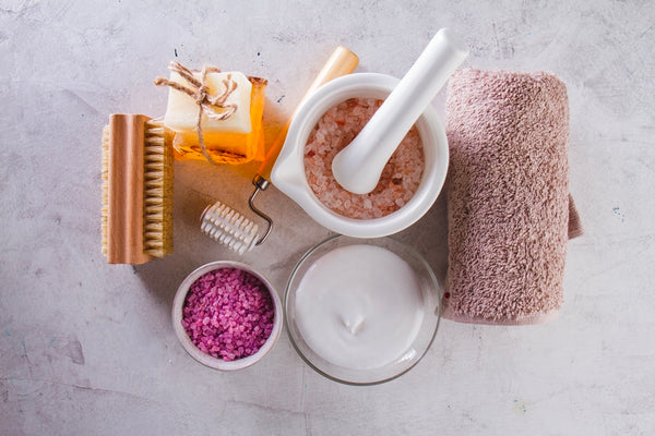 Natural products and tools for skin care