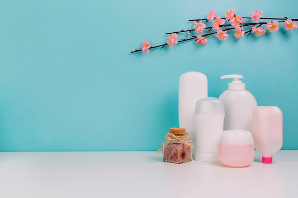 Different types of skin care products