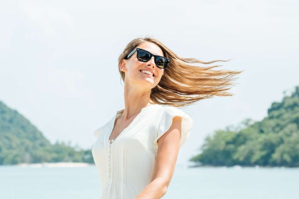 Protect your hair and marine life from damage
