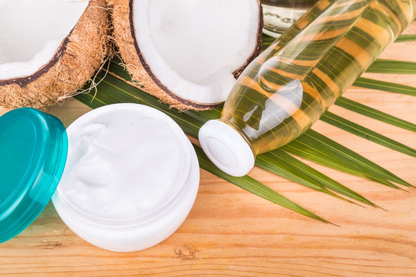 Coconut oil and cream