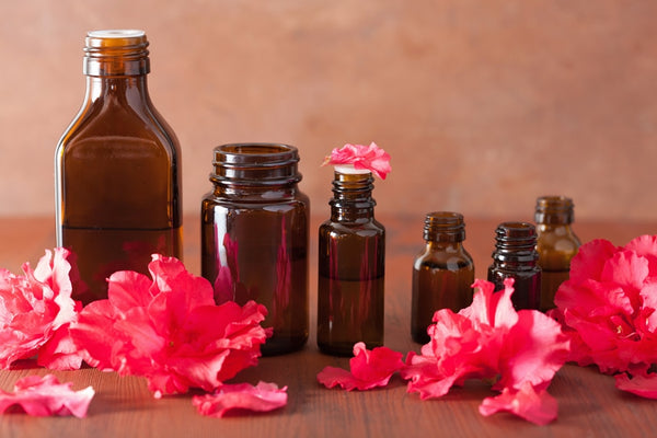 Flower essential oils