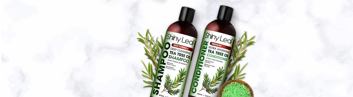 Tea Tree Oil Shampoo and Conditioner
