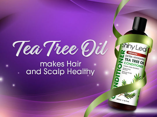 SHINY LEAF TEA TREE OIL CONDITIONER GIVEAWAY