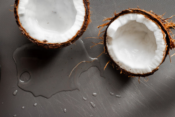 Coconut meat is the source of coconut oil