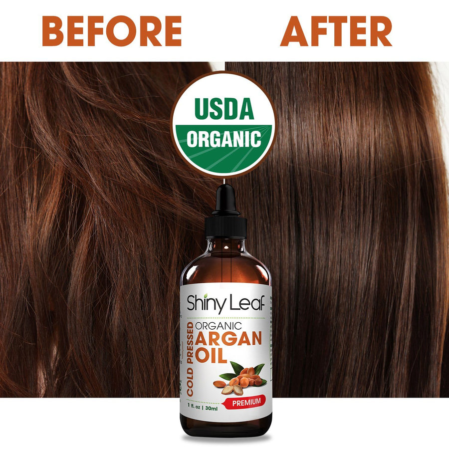 Cold Pressed Organic Argan Oil