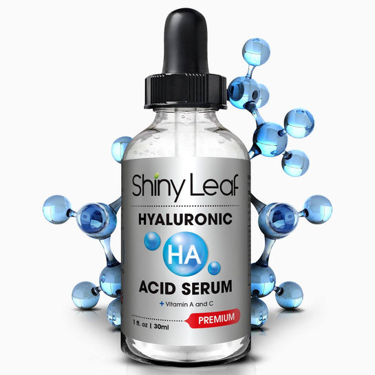 Hyaluronic Acid Serum For Face With Vitamin C Anti Wrinkles