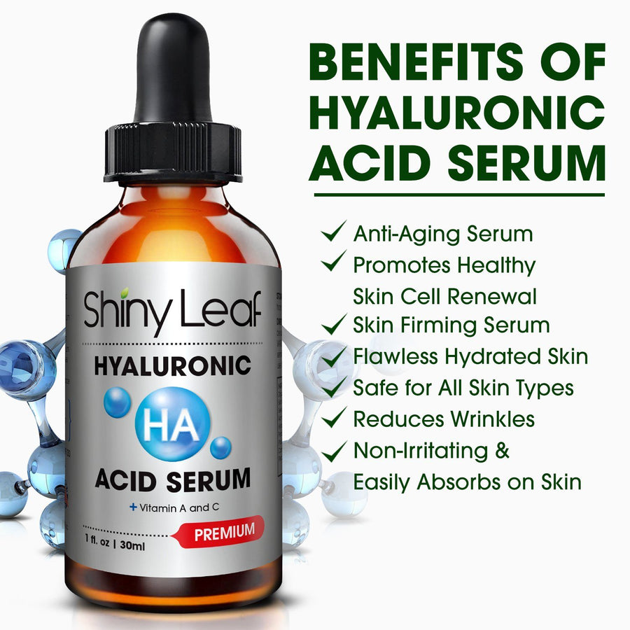 Hyaluronic Acid and Vitamin C Face Serum Set