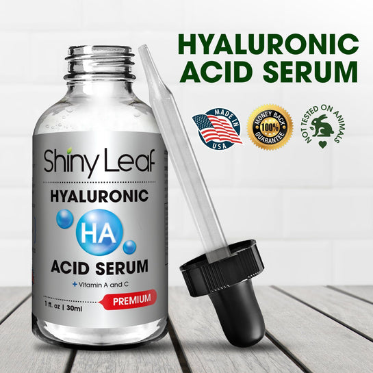 Hyaluronic Acid Serum For Face With Vitamin Anti Wrinkles