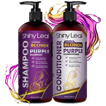 Ultimate Blonde Purple Shampoo and Conditioner