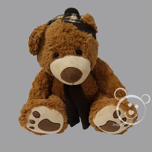 Teddy Bear Muflar Design XL - Brown