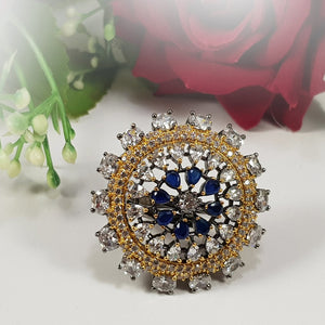 Turkish Ring - Blue