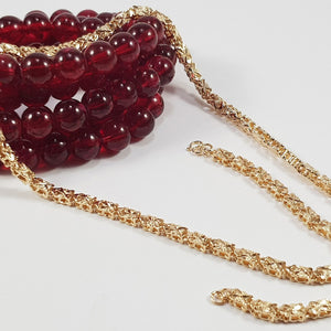 Golden Bold Style Chain - Gold Plated